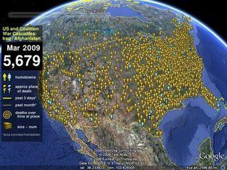 Google's Map of the Fallen