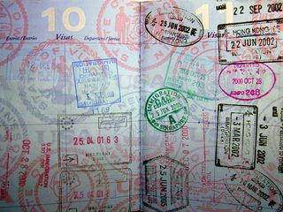 Visa Stamps from hjl's Flickrstream