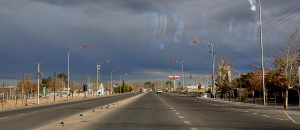 Ruta 237 in Patagonia