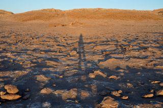 Shadows In Atacama