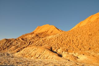 Fragemented Constrast in the Atacama Desert