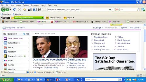 Obama Move Overshadows Dalai Lama Yahoo! Story