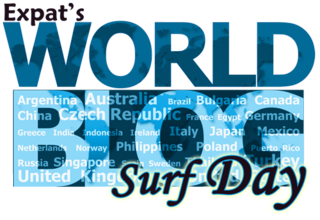 World Blog Surf Day Logo