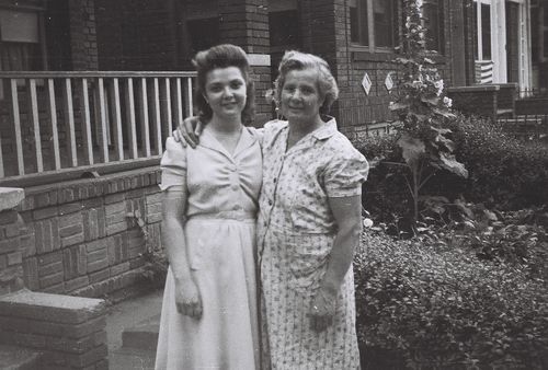 Grandma Ruth and her mother