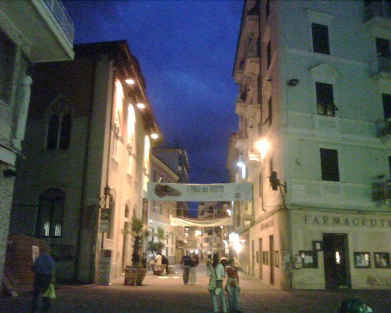 Back in La Spezia