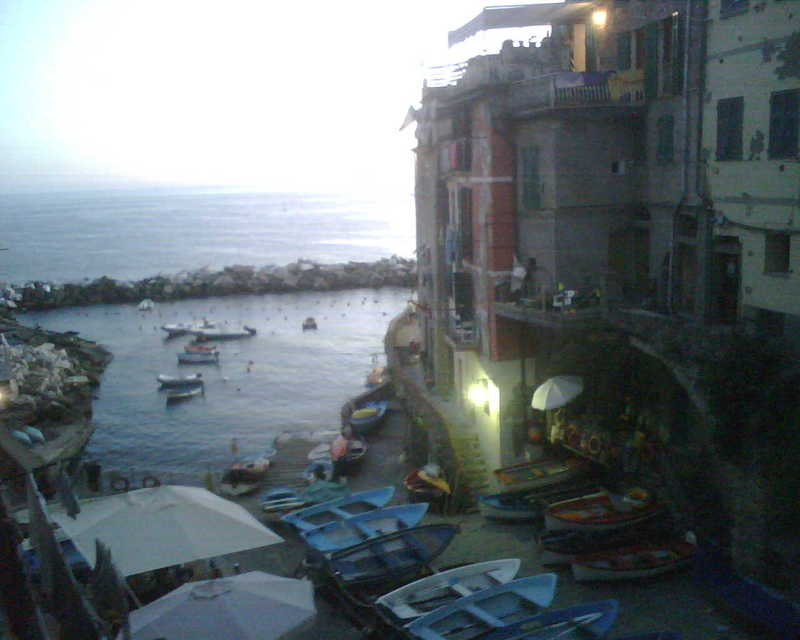 Looking Out On Riomaggiore